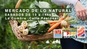 Feria agroecológica: Jueves y sábados en La Cumbre