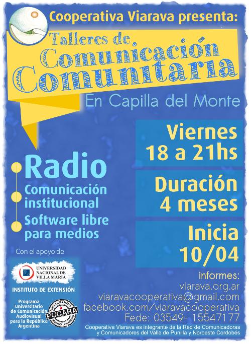 Talleres de Comunicación Comunitaria 2015 Coop Viarava pequeño