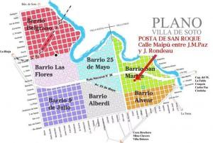Mapa ubicación Posta de S. Roque