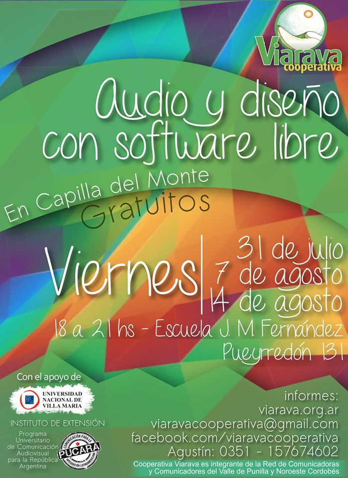 Taller de Audio y Diseño con Software Libre