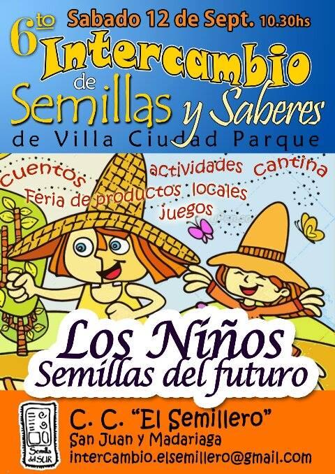 6 Interc Semillas y Saberes VCP Flyer