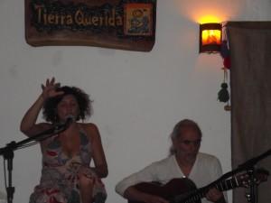 Mery Murua y Horacio Burgos en Tierra Querida