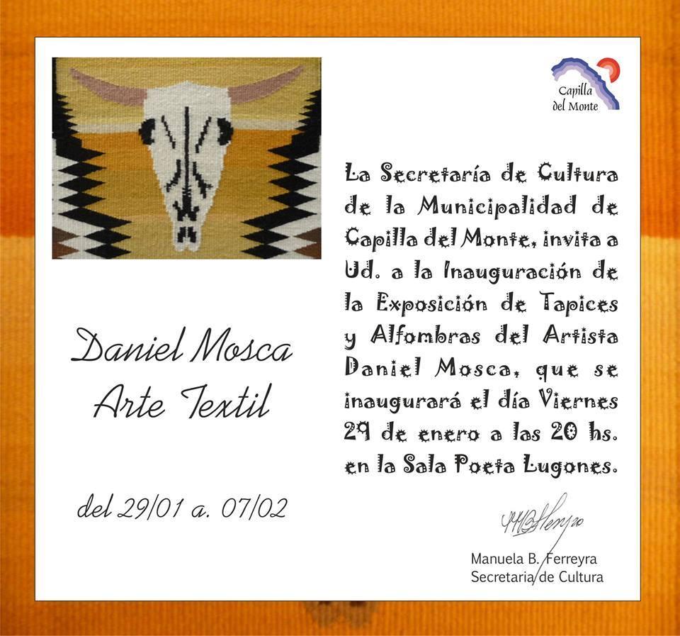 Daniel Mosca tapices