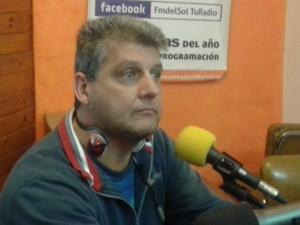 Marcelo Rodriguez (UPC) en Entre Mate y Mate