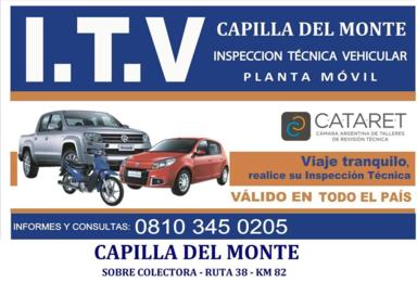 ITV en Capilla del Monte