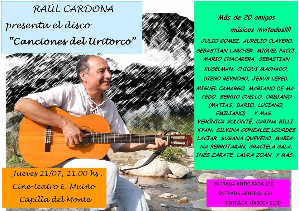 Cardona presenta disco