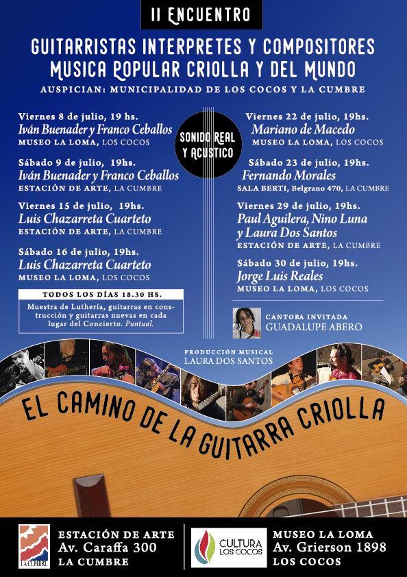 guitarras y voces criollas 2