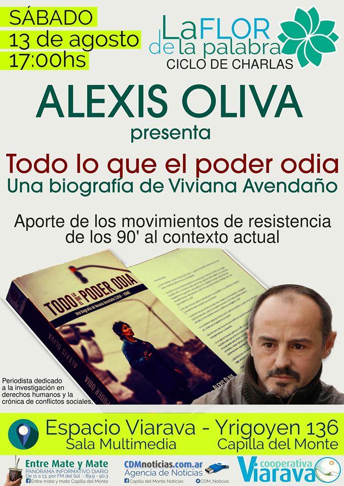 Alexis Oliva comprimido La flor de la palabra