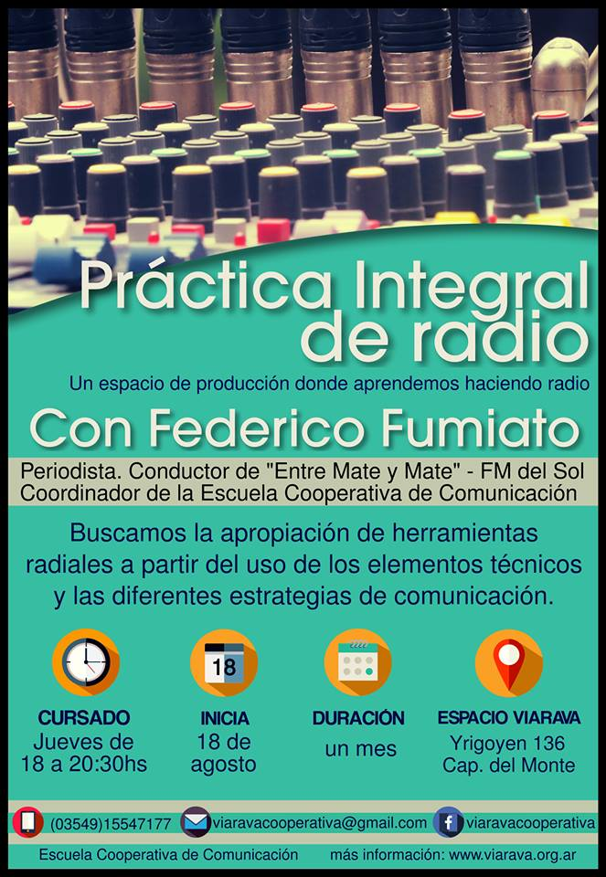Fede Fumiato práctica integral de radio comprimida